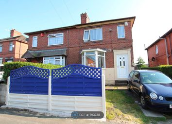 Thumbnail 2 bed semi-detached house to rent in Newstead Road, Stoke-On-Trent