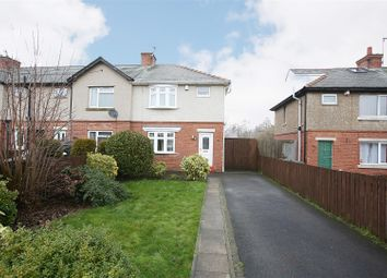 Thumbnail 3 bed end terrace house for sale in Dudley Lane, Seaton Burn, Newcastle Upon Tyne