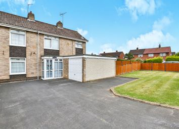 Thumbnail 3 bed semi-detached house for sale in Waples Way, Dereham