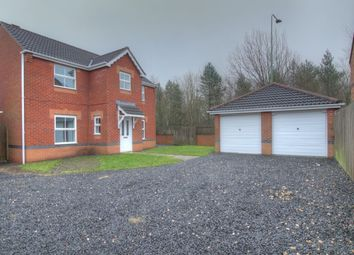 Thumbnail 4 bed detached house for sale in Steading Court, Consett