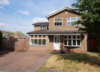 Thumbnail 4 bedroom detached house for sale in Willow Brook Road, Coventry