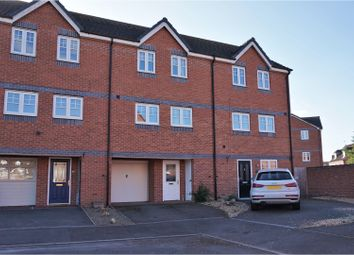 Thumbnail 3 bed town house for sale in Clyde Street, Derby