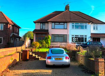 Thumbnail 3 bed semi-detached house for sale in Woodlands Road, Gillingham