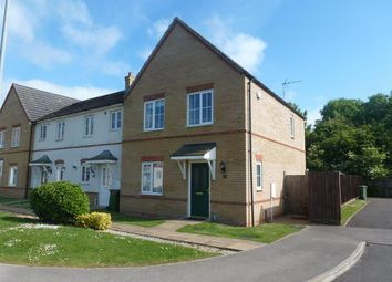 Thumbnail 3 bedroom end terrace house to rent in Thorpe Close, Tydd St. Mary, Wisbech