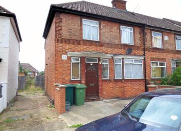 Thumbnail 3 bed end terrace house for sale in Fulwood Avenue, Wembley, Middlesex