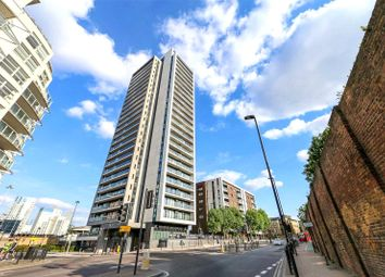 Thumbnail 1 bed flat for sale in Horizons Tower, Yabsley Street, London