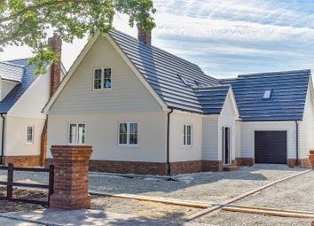 Thumbnail 3 bed detached house for sale in Evelyn Road, Great Leighs, Chelmsford
