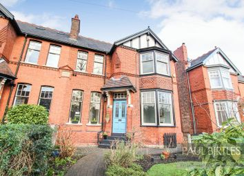 Thumbnail 4 bed semi-detached house for sale in Western Road, Flixton, Manchester
