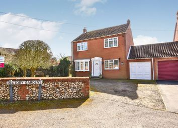 Thumbnail 4 bed detached house for sale in The Street, Syderstone, King's Lynn