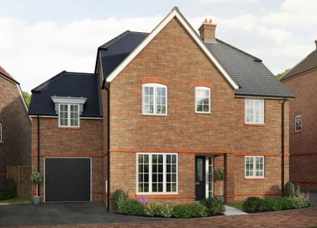 "Thumbnail 5 bed detached house for sale in ""The Tiverton "" at Saunders Way, Basingstoke"