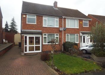 Thumbnail 3 bed semi-detached house for sale in Norton Road, Coleshill, Birmingham, West Midlands