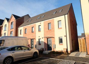 Thumbnail 3 bedroom town house to rent in Golwg Y Garreg Wen, Landore, Swansea