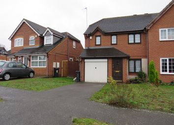 Thumbnail 3 bed semi-detached house for sale in Cloverdale Road, Hamilton, Leicester