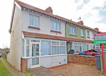 Thumbnail 3 bed end terrace house for sale in Old Shoreham Road, Southwick, Brighton