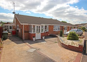 Thumbnail 2 bed semi-detached bungalow for sale in Hobby Close, Broughton Astley, Leicester, Leicestershire
