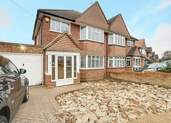 Thumbnail 3 bed semi-detached house for sale in St. Georges Drive, Ickenham