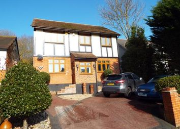 Thumbnail 4 bed detached house for sale in Crown Road, Billericay