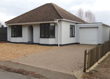 Thumbnail 3 bed detached bungalow to rent in Howdale Road, Downham Market