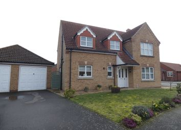 Thumbnail 4 bed detached house for sale in Grange Drive, Tattershall, Lincoln
