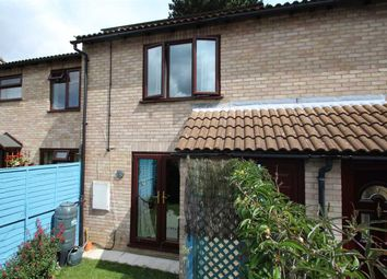 Thumbnail 2 bedroom terraced house for sale in Newton Croft, Sudbury