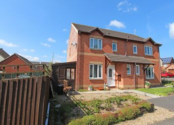 Thumbnail 3 bed semi-detached house for sale in Robin Close, Cullompton