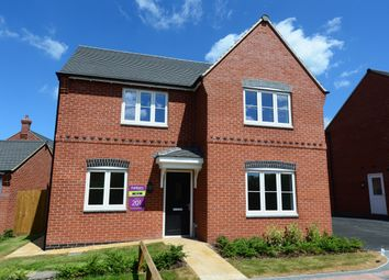 Thumbnail 4 bed detached house for sale in Moira Road, Ashby-De-La-Zouch