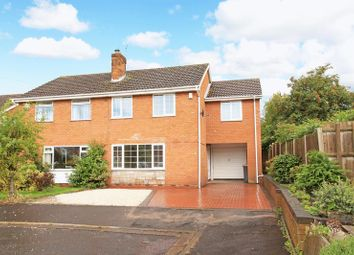 Thumbnail 3 bed semi-detached house for sale in Linden Grove, Wellington, Telford