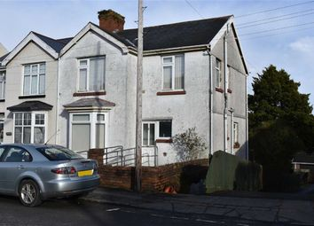 Thumbnail 3 bed semi-detached house for sale in Vicarage Road, Swansea