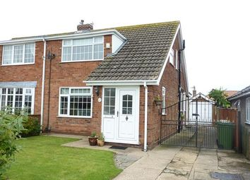 Thumbnail 3 bed semi-detached house for sale in Westbury Road, Cleethorpes