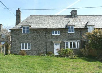 Thumbnail 3 bedroom cottage for sale in The Parade, Milton Abbot, Tavistock
