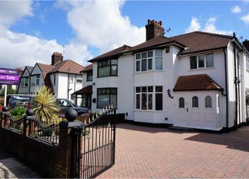 Thumbnail 4 bedroom semi-detached house for sale in Queens Drive, Liverpool