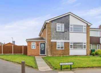 Thumbnail 5 bed detached house for sale in Eden Road, Oadby, Leicester