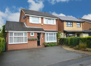 Thumbnail 4 bed detached house for sale in Glaston Drive, Solihull