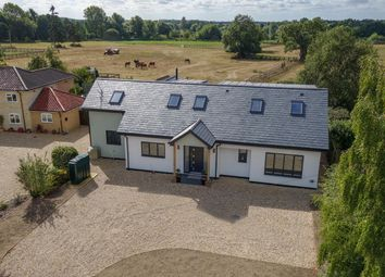 Thumbnail 4 bedroom detached house for sale in Icklingham Road, West Stow, Bury St. Edmunds