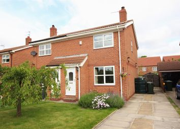 Thumbnail 2 bed semi-detached house for sale in Oak Road, North Duffield, Selby