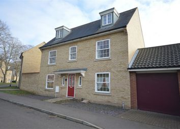 Thumbnail 5 bedroom detached house for sale in Nelson Drive, Little Plumstead, Norwich