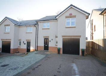 Thumbnail 3 bed semi-detached house for sale in Milnwood Crescent, Uddingston, Glasgow