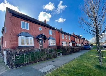 Thumbnail 4 bed detached house for sale in Saxon Drive, Leicestershire, Rothley