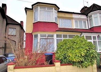 Thumbnail 3 bedroom end terrace house to rent in Lonsdale Avenue, Wembley, Middlesex