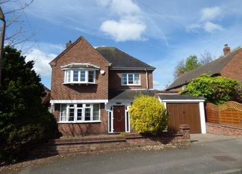 Thumbnail 3 bed detached house for sale in Woodcroft Avenue, Tamworth, Staffordshire
