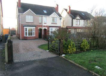 Thumbnail 2 bed semi-detached house to rent in Nuneaton Road, Bulkington, Bedworth, Warwickshire