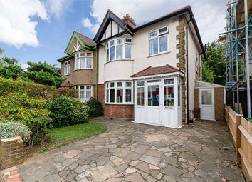Thumbnail 3 bedroom semi-detached house for sale in Carlton Crescent, Cheam, Surrey