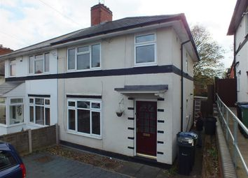 Thumbnail 3 bed property to rent in Pavilion Avenue, Bearwood, Smethwick