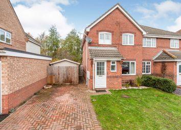Thumbnail 3 bed semi-detached house for sale in Bourne Avenue, Bury St. Edmunds