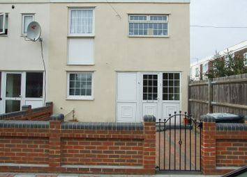 Thumbnail 4 bedroom end terrace house to rent in Worthing Close, Stratford/West Ham