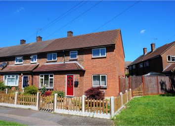 Thumbnail 4 bed end terrace house for sale in Chippenham Road, Harold Hill