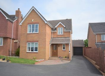 Thumbnail 4 bed detached house for sale in Esgair-Y-Maes, Broadlands, Bridgend .