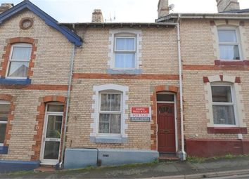 Thumbnail 2 bed terraced house for sale in Hilton Road, Newton Abbot, Devon.