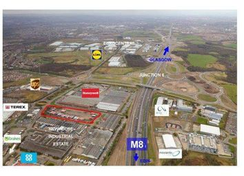 Thumbnail Land to let in Newhouse Industrial Estate, Newhouse, Motherwell