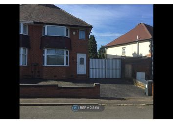 Thumbnail 2 bedroom semi-detached house to rent in Longbridge Lane, Birmingham